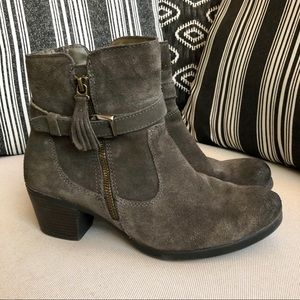 Earth Origins Tori Leather Ankle Boots